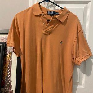Large Orange Ralph Lauren Polo
